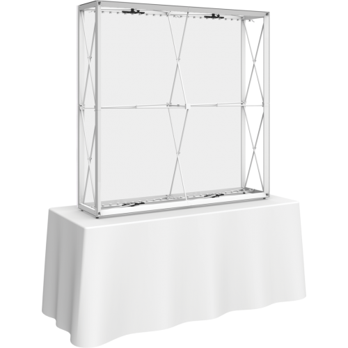Embrace 5ft Backlit Tabletop Push-Fit Tension Fabric Display