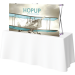 Hopup 5ft Straight Tabletop Tension Fabric Display